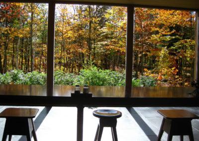 automne par les vitres du réfectoire2